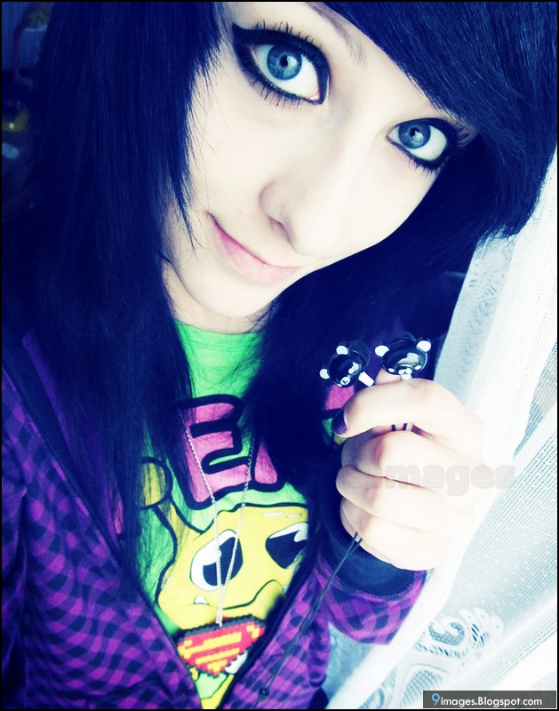 Emo Girl Cute Beautiful Images