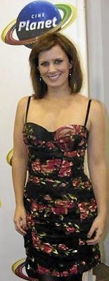Rossana Fernández Maldonado en el Cine Planet
