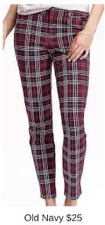 Sydney Fashion Hunter - She Wears The Pants - Old Navy Plaid Women's Work Pants