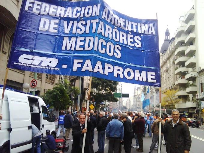 Visitadores Medicos: Dan inicio al  plan de lucha por paritarias justas y necesarias