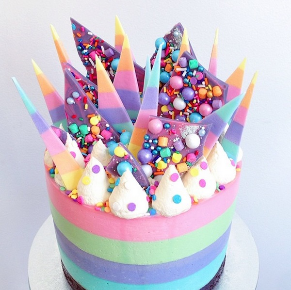unicorn special cake for birthday