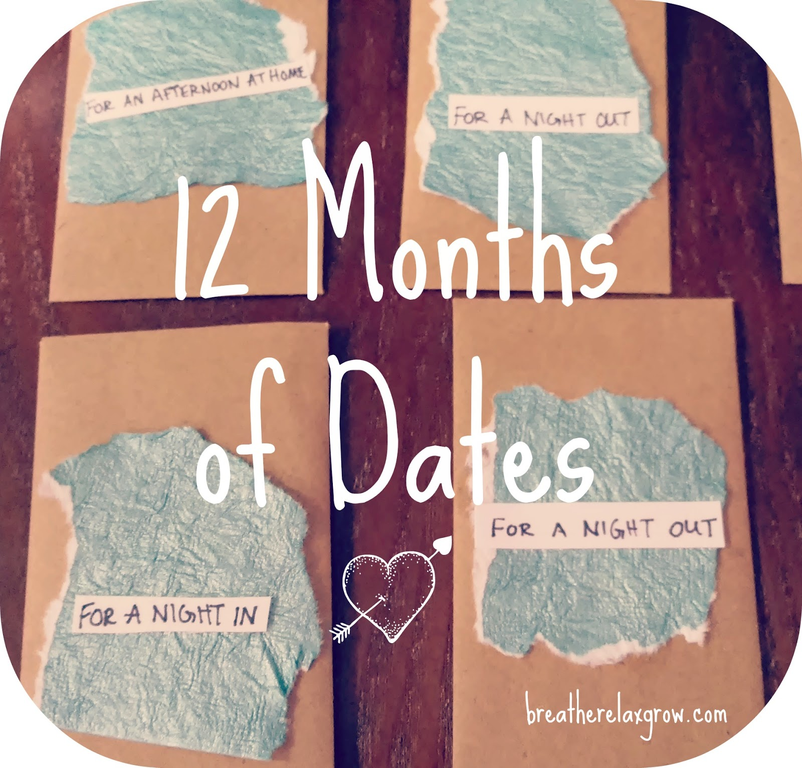 12 months of date ideas