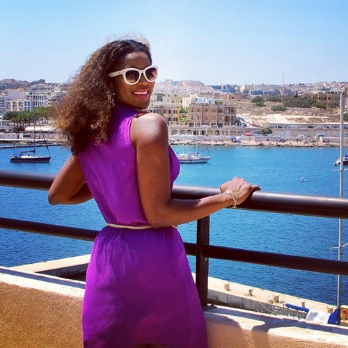 stephanie okereke malta europe vacation