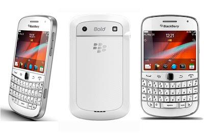 Harga Blackberry Bold 9900 Touch White Dan Spesifikasi