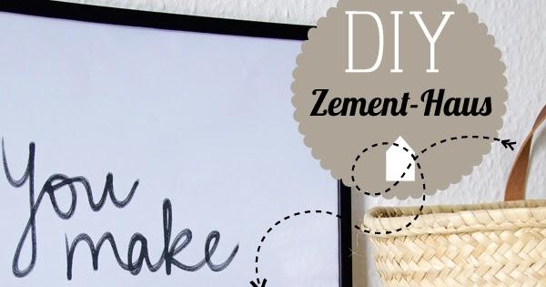 spoon and key food blog diy zement h user. Black Bedroom Furniture Sets. Home Design Ideas