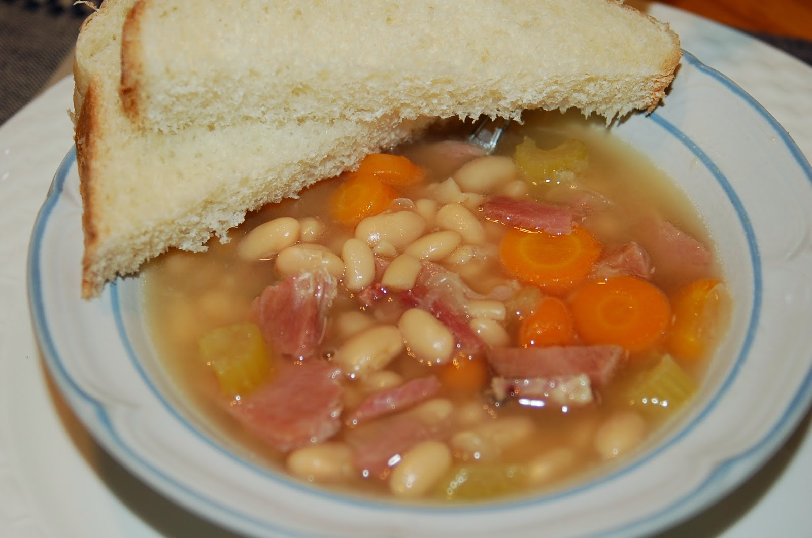 Joy in the Kitchen!: Hearty Ham and Bean Soup
