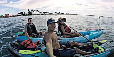 Kayaking Caladesi State Park - Kayak Rentals Caladesi Island - Sail Honeymoon Kayaks - Honeymoon Island Kayak Rentals - Island Hopping Caladesi Island