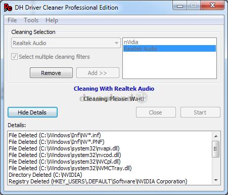 تحميل برنامج تنظيف الهارد Driver Cleaner Professional 1.5