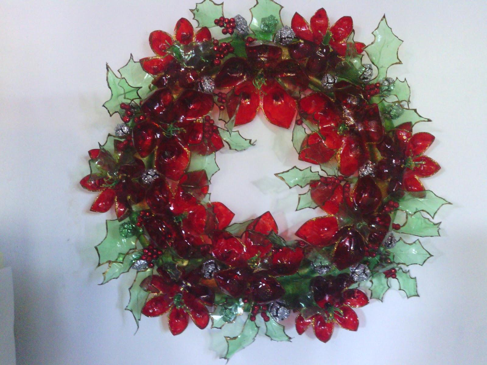 Antonia cristiani design adornos navidad de pet - Adornos navidad reciclados para ninos ...
