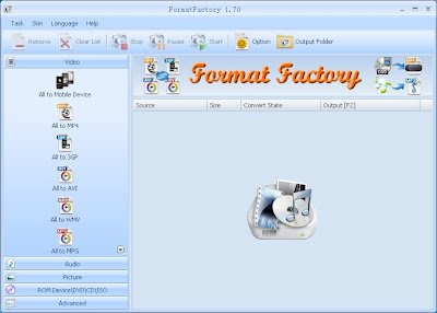 Format Factory , media converter , video editors, Video editing softwares, freewares , windows softwares, multifunctional softwares, multifunctional media converters , multifunctional converters