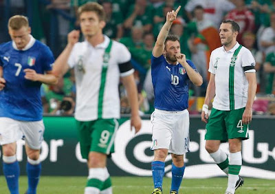 Video Italia vs Irlandia 2-0 | Highlight Pertadingan Tadi Malam