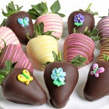 Mother Day Flowers and Chocolate