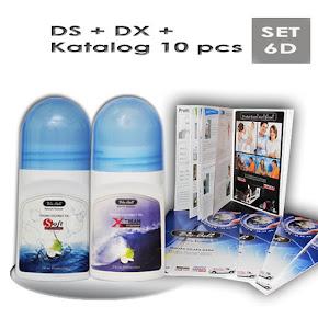 Kod: SET-6D (Harga: RM72 + PERCUMA POS)