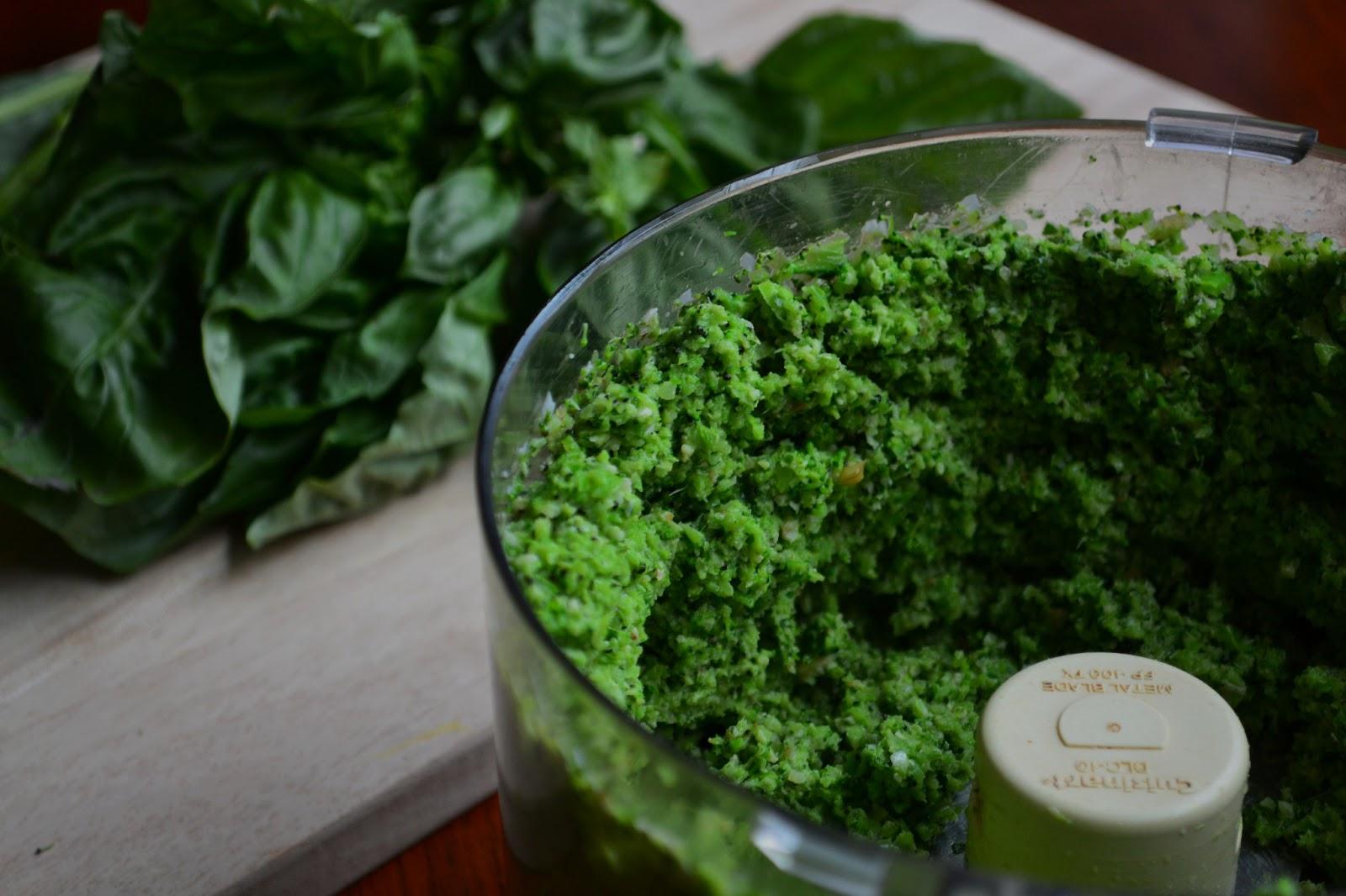 Nourish The Roots: Double Broccoli Quinoa