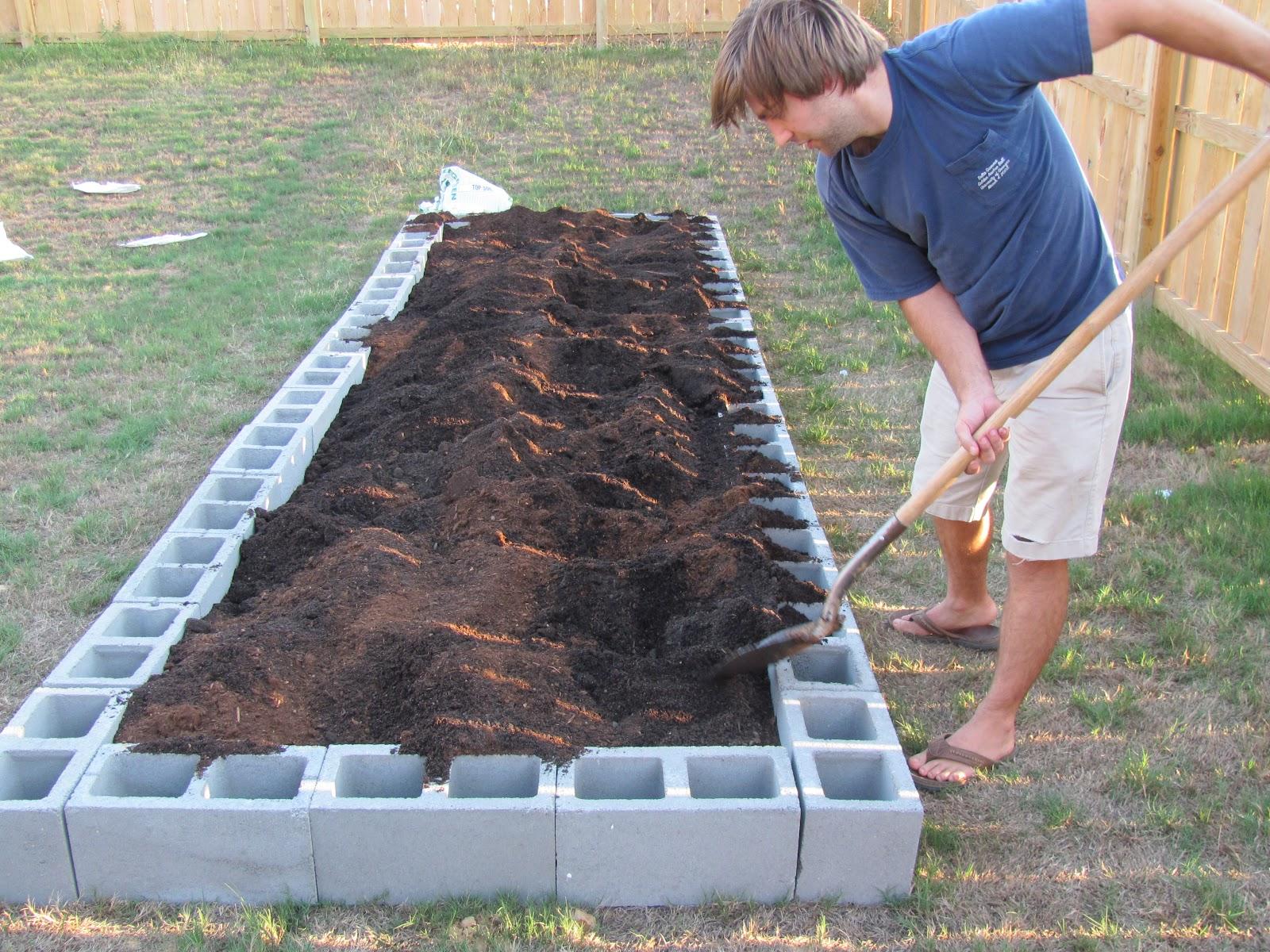 Cinderblock Garden: Planning