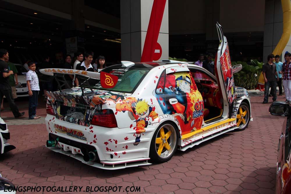 Custom modified Naruto Waja