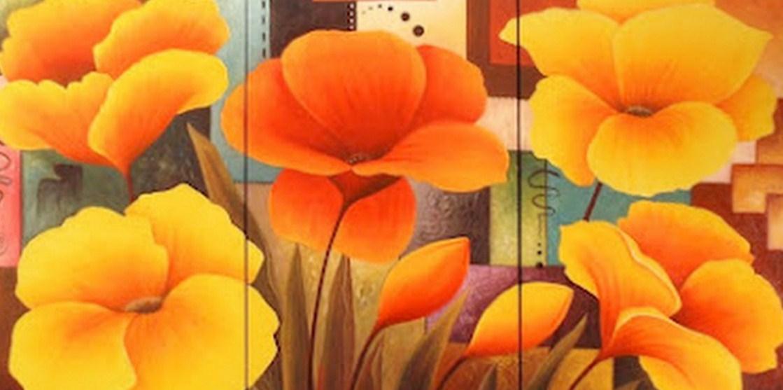 Cuadros modernos pinturas y dibujos dise os para pintar - Pinturas acrilicas modernas ...