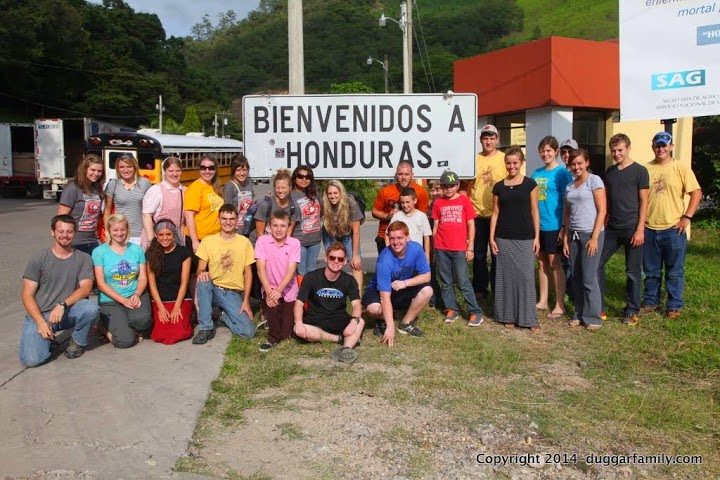 Duggars Central America mission trip