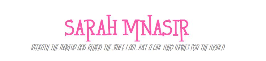 Sarah Mnasir