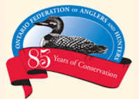 image OFAH banner feturing loon and 85 years ribbon