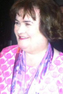 Susan Boyle in Dundee, July 6, 2013