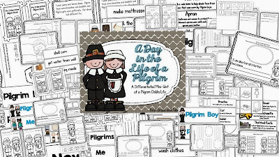 http://www.teacherspayteachers.com/Product/A-Day-in-the-Life-of-a-Pilgrim-Child-167193
