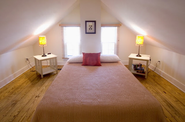 How to decorate an attic bedroom 5 small interior ideas An attic room