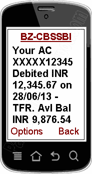 sbi sms alert charge rs 15