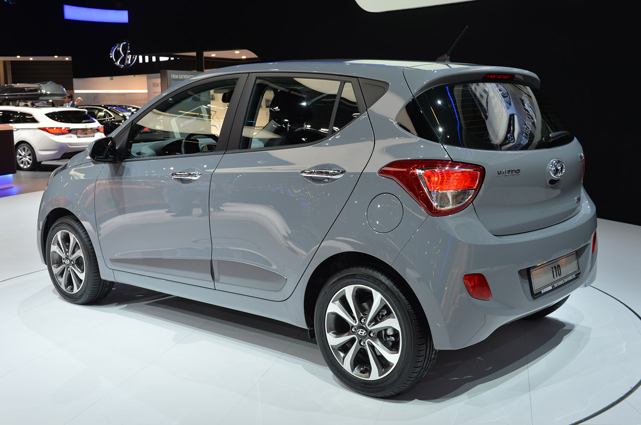automotiveblogz 2013 hyundai i10 frankfurt 2013 photos. Black Bedroom Furniture Sets. Home Design Ideas