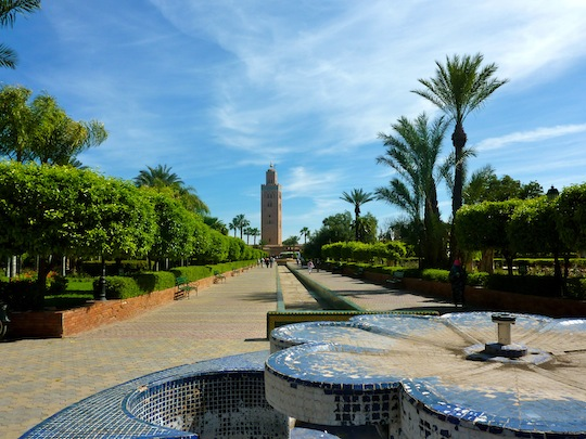 Koutoubia Mosque and Minaret Marrakech