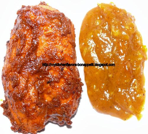 My Kitchen Flavors - Bon Appetit!: Chicken Tikka in Orange Sauce