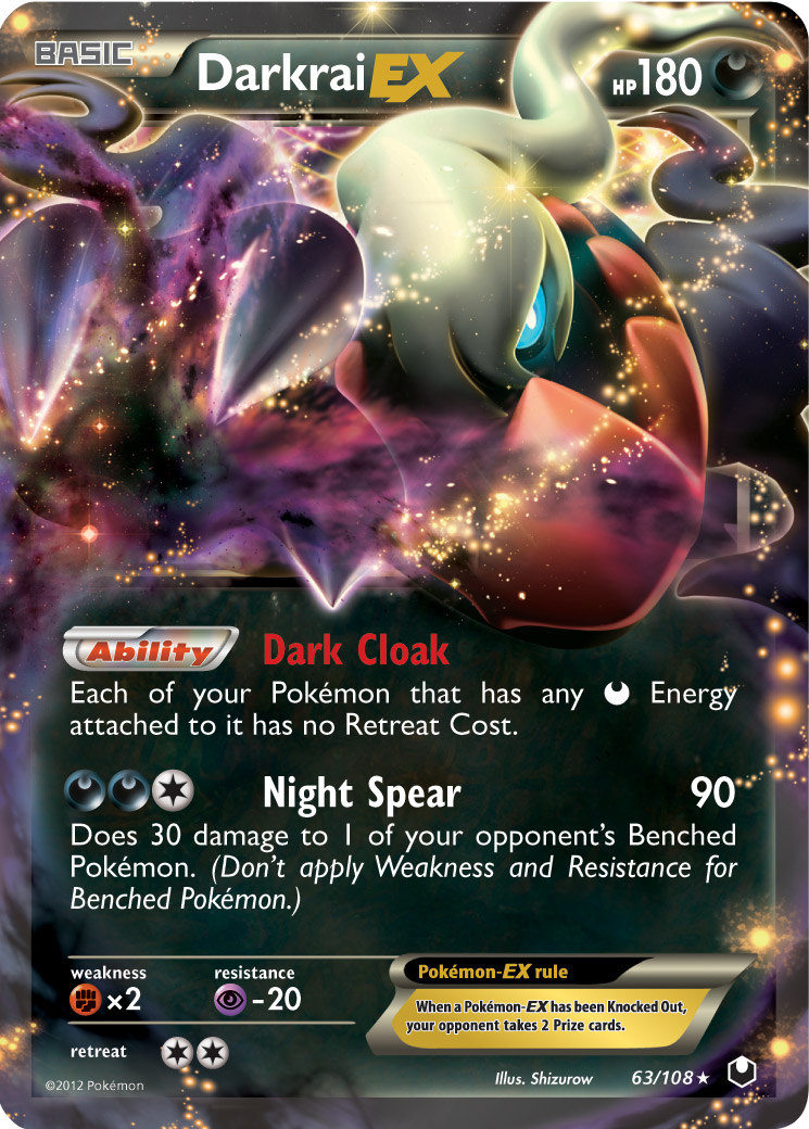 pokemon card overview today s pokemon card review is of darkrai ex