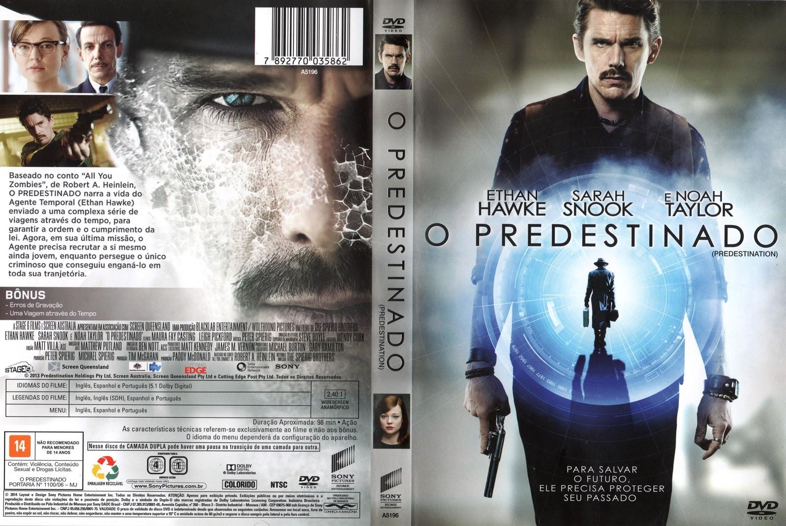 Capa DVD O Predestinado