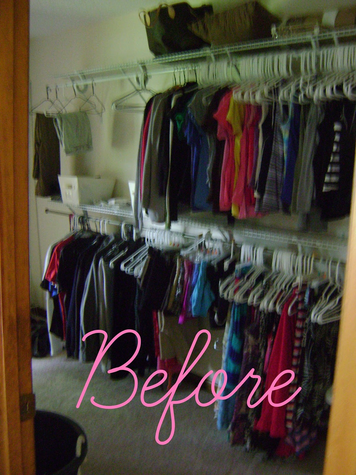 LiveLoveDIY: The $50 Closet Makeover