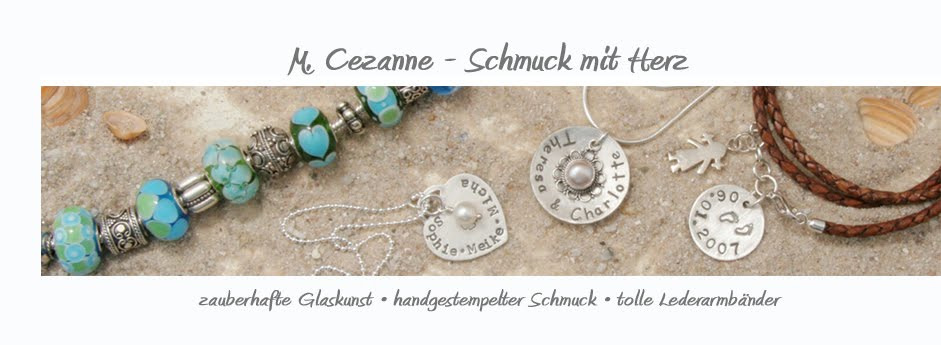 M. Cezanne - zauberhafte Glaskunst & Silberschmuck