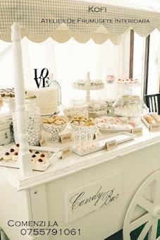 Carut candy bar - Kofi - decoratiuni nunta