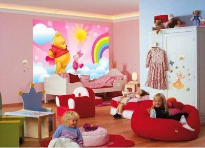 Desain Kamar Tidur Untuk Anak Perempuan