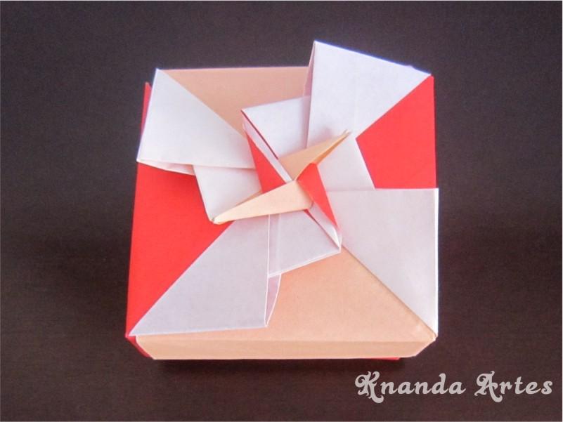 Knanda Artes Caixa De Origami Diagrama E Video