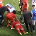 Martin Skrtel lands awkwardly on head after Gestede challenge
