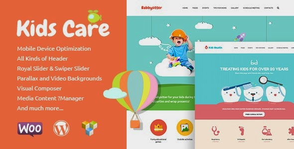 download Kids Care | Multi-Purpose Children WordPress Theme