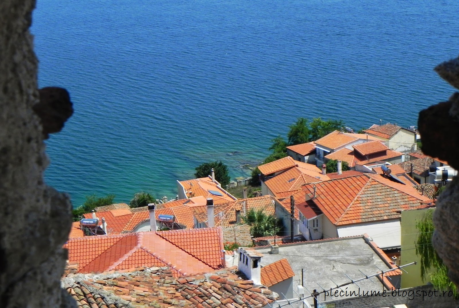 Priveliste din cetatea Kavala