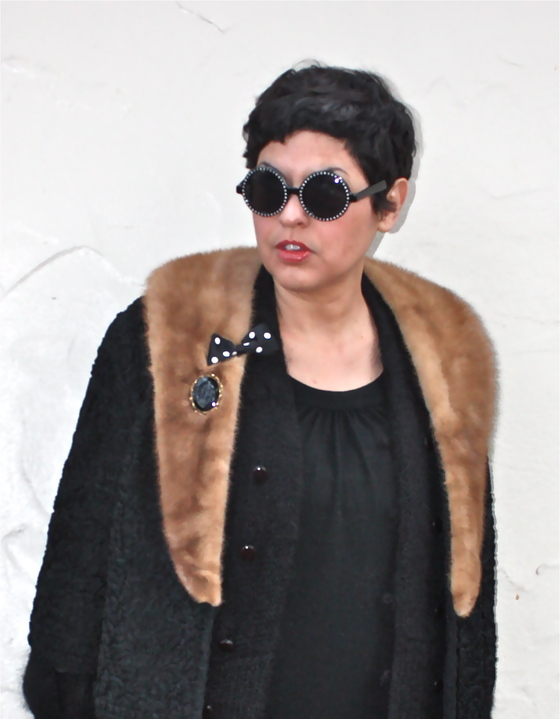 outfit post: Black Winter Spinster