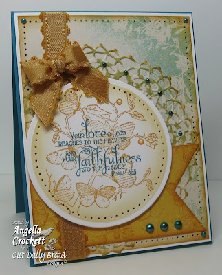 "Our Daily Bread designs ""Faith"" Designer Angie Crockett"