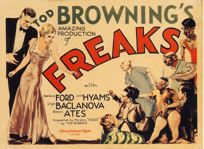 It irks me that Freaks, Tod Browning's notorious 1932 movie starring ...