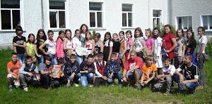 Elevii clasei a VI-a, la sfârșit de an școlar -2013