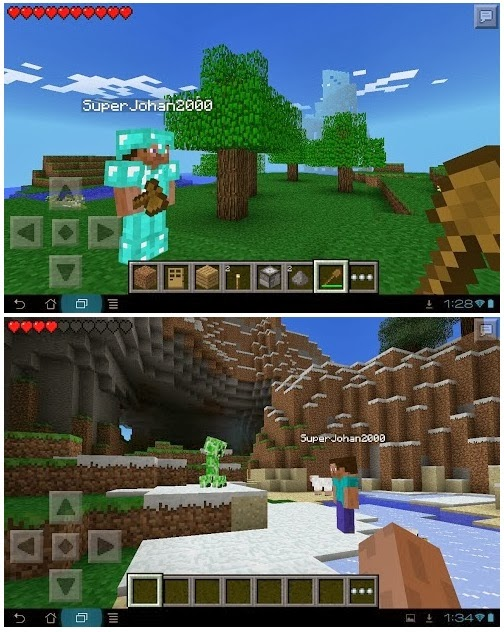 Minecraft,Pocket Edition,APK v0.8.1