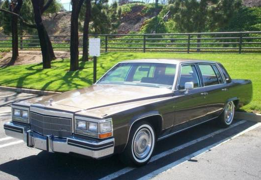 Cadillac Deville 1984 Complete Electrical Wiring Diagram Part 1