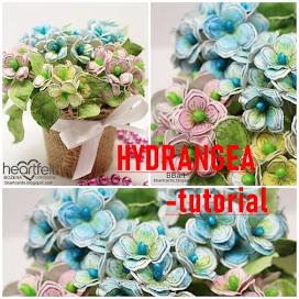 HYDRANGEA FLOWERS TUTORIAL