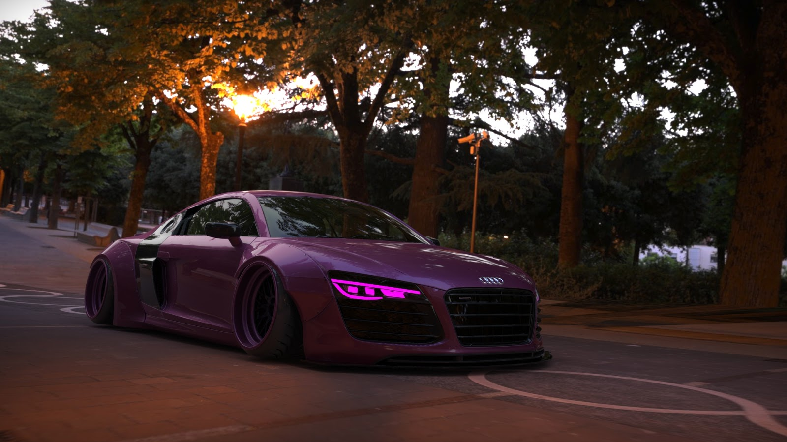 Audi R8 Liberty Walk Performance Gta 3dmodding