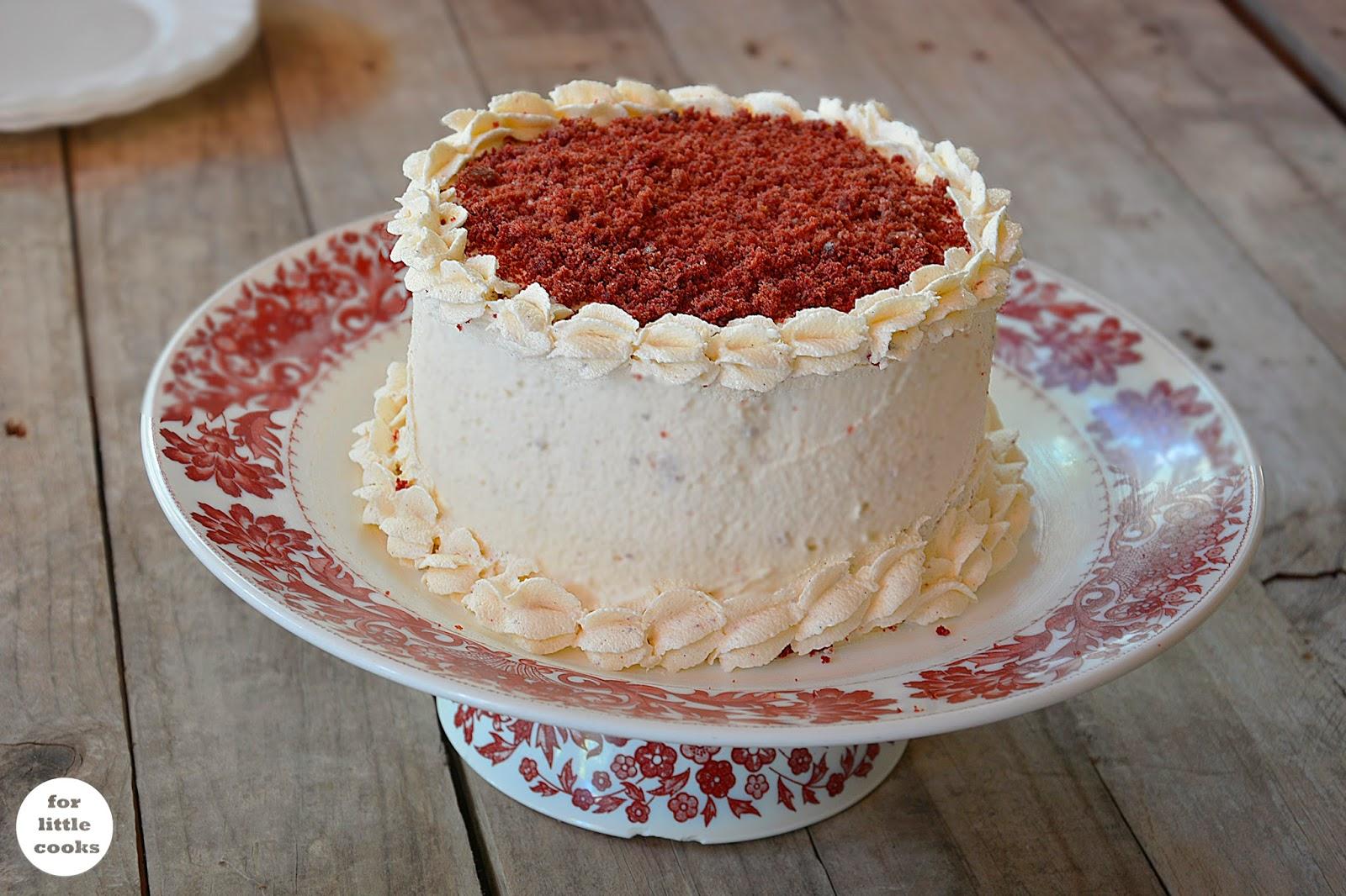 For little cooks recetas para todos tarta red velvet - Tarta red velvet alma obregon ...